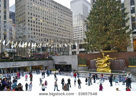 Holidays Rockefeller Center