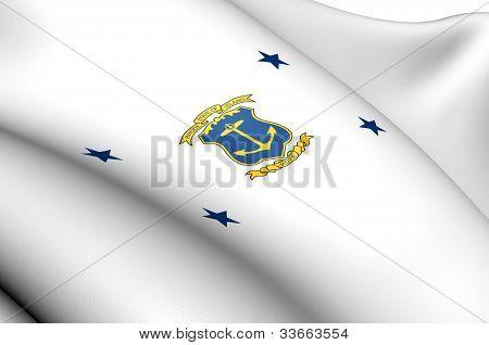 Governor Of Rhode Island Flag
