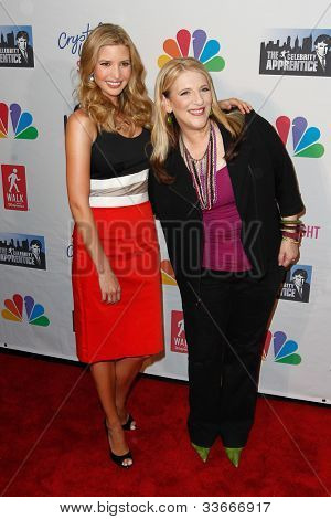 NEW YORK-MAY 20: Ivanka Trump and comic Lisa Lampanelli attend the 'Celebrity Apprentice' Live Finale at the American Museum of Natural History on May 20, 2012 in New York City.