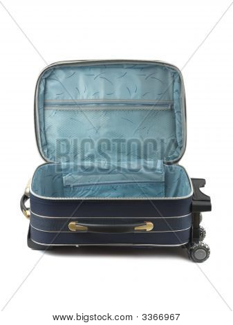 Opened Travel Case