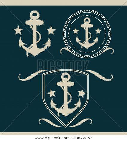 Anchors vintage set