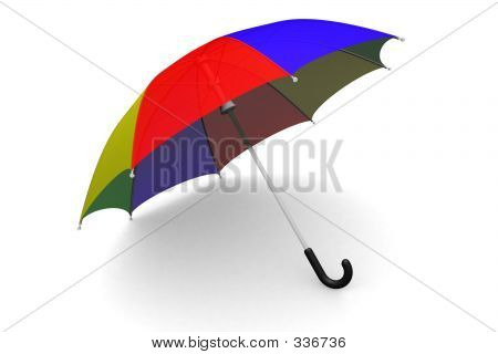 Umbrella On The Ground