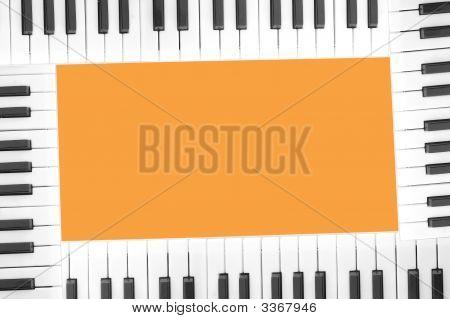 Klavier-Frame