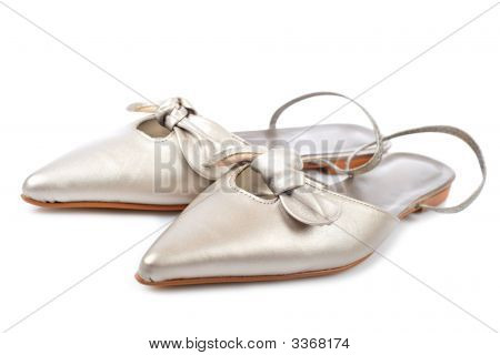 Wedding Shoes Isolated