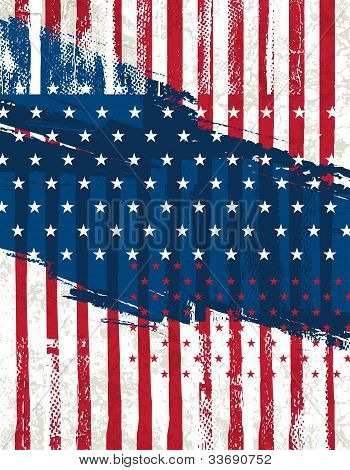 Usa Background , Vector Illustration