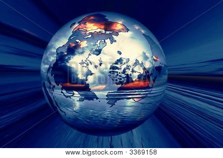World Globe Wallpaper