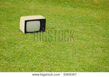 Tv On The Grass