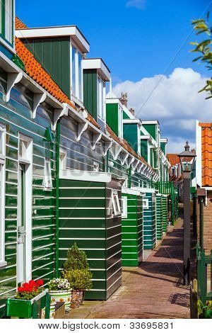Houses in Marken