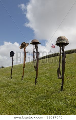 Fallen Soldier Battle Crosses