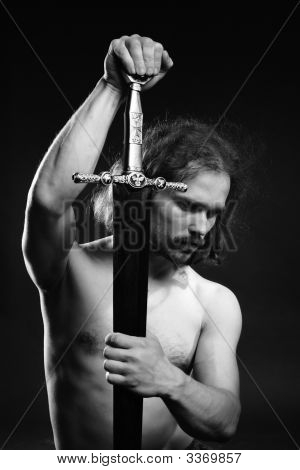 Warrior With Sword