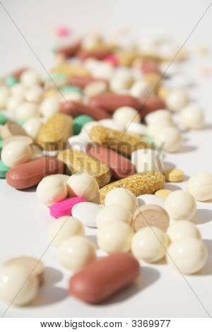 Pile Of Spilled Pills