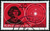 Stamp Of Nicolaus Copernicus