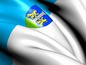 Постер, плакат: Флаг Аяччо Франция