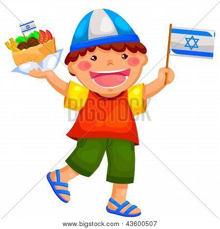 Menino israelense