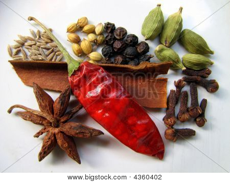 Just Have A Close Look At Indian Spices !!!!!