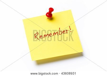Remember Note