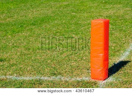 Orange Football Pylon