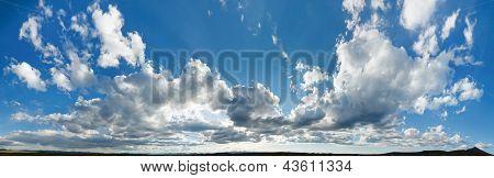 XXL Cloudscape Panorama