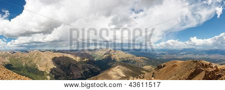Rocky Mountains Panorama From Mount Elbert