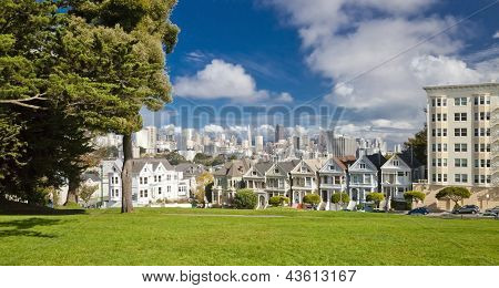 San Francisco, Usa - Painted Ladies