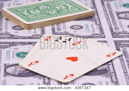 Playing Cards With Money