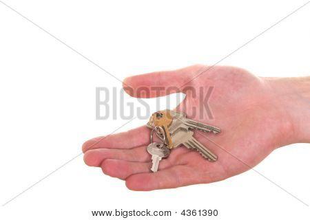 Keys Hand Over