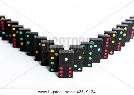 Domino V Shape