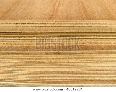 Pile Of Plywood Sheets