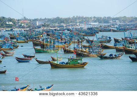 Vissersboten, Vietnam