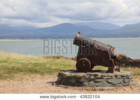 Cannon at Llanddwyn Island