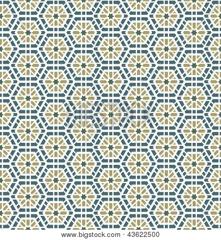Arabic Seamless Pattern Background