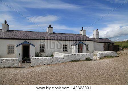 Pilots Cottages on Llanddwyn