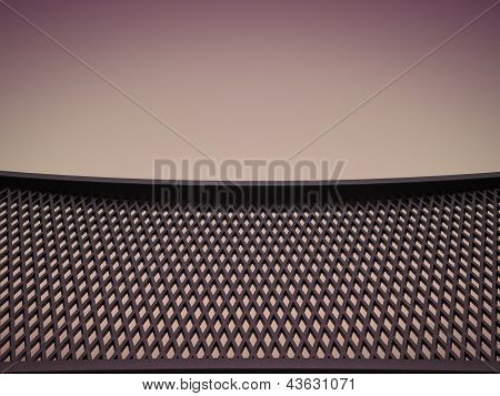 Meshy Pattern And Leather Background