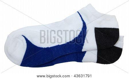 Isolated Athletic Socks