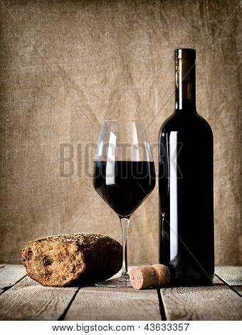 Wine and cork