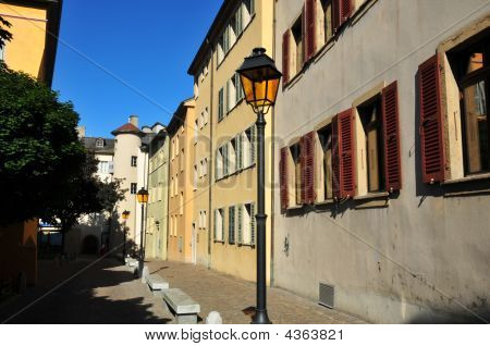 Street In Swiss Old Town