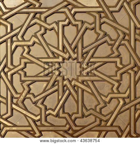 Moroccan Metal Arabesque