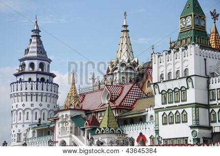 Izmaylovskiy Kremlin in Moscow, Russia