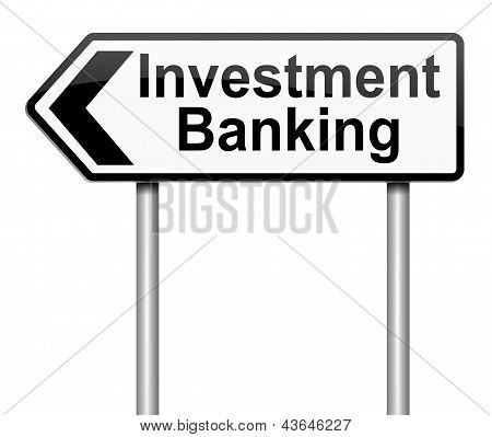Investment Banking Concept.