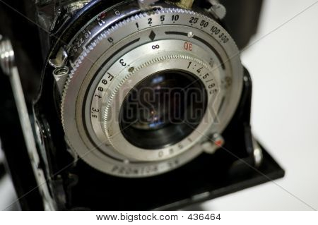 Vintage Camer Close Up - Shallow Depth Of Field