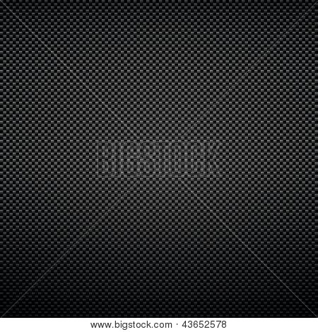 Black background of carbon fibre texture