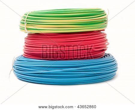 Colorful Wire Bundles