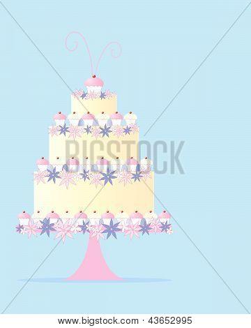 Fancy Cake Greeting
