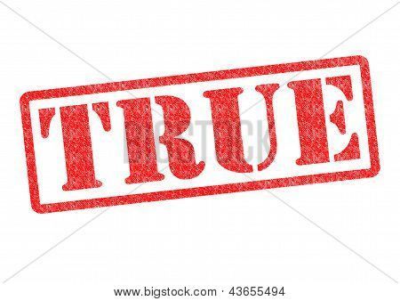 True Rubber Stamp