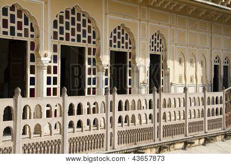 Travel India: Balconyl Of Hawa Mahal Palace In Jaipur