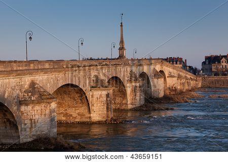 Bridge Of Blois, Loir Et Cher, France