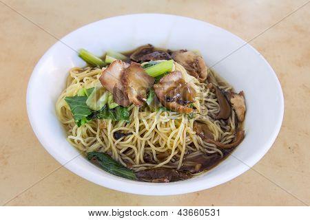 Penang Wanton Mee Noodle