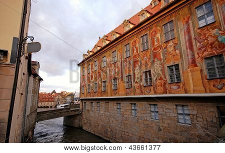 The Old Town Hall Of Bamberg(Germany)