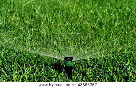 Sistema de riego de jardines