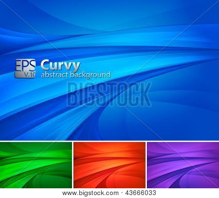Swirly Abstract Background